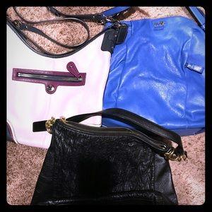 coach purse lot of 3